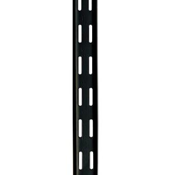Rieles Para Estantes.Riel Estante Negro X 2 00 Jcb Distribuidor Ferretero Pedidos Desde